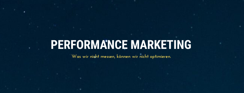 Was bedeutet Performance-Marketing, was ist die Definition?