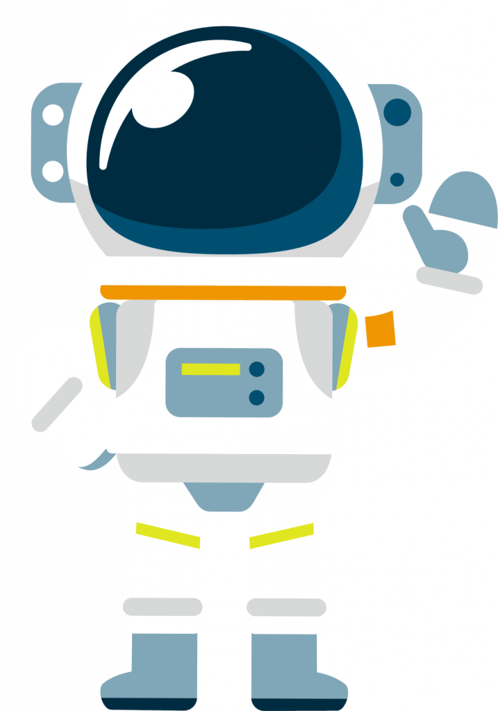 Comic Astronaut Buddy