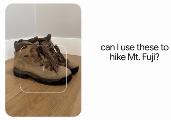 Google- Kann ich diese Schuhe zum wandern tragen?